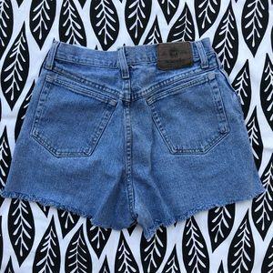 High Rise Wrangler Shorts